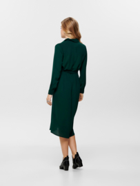 JDY - Pinto midi shirt dress scarab