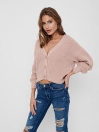 JDY - Nola cardigan knit adobe rose