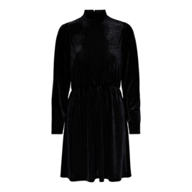 JDY - Dinne velvet dress black