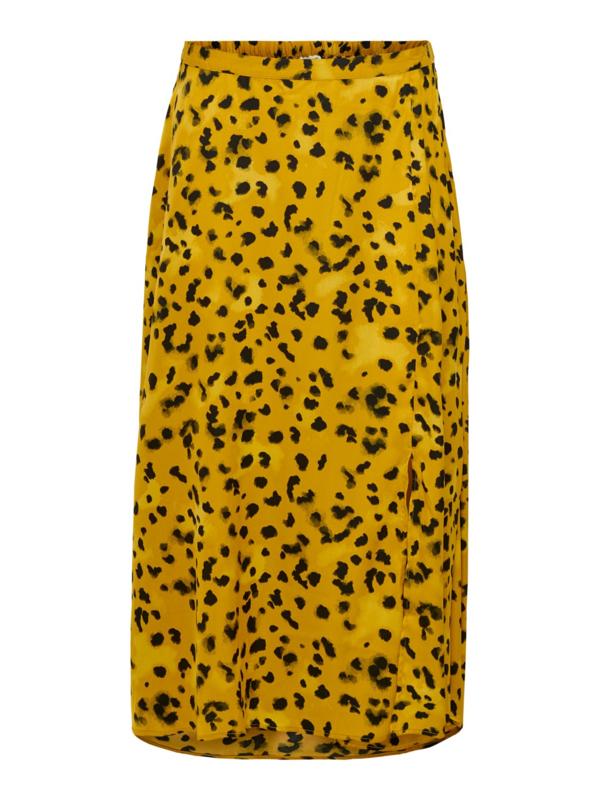 JDY - Rock abovecalf skirt harvest gold leo