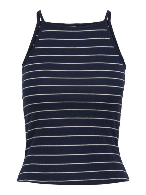 JDY - Nevada life strap top navy blazer stripes