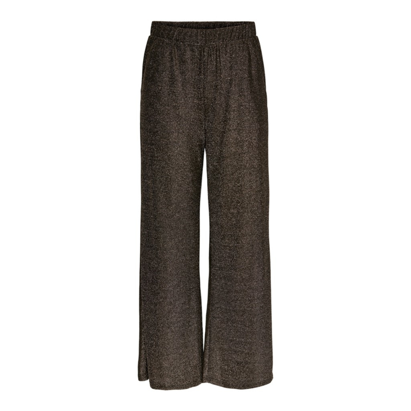 JDY - Pica wide pant black gold lurex