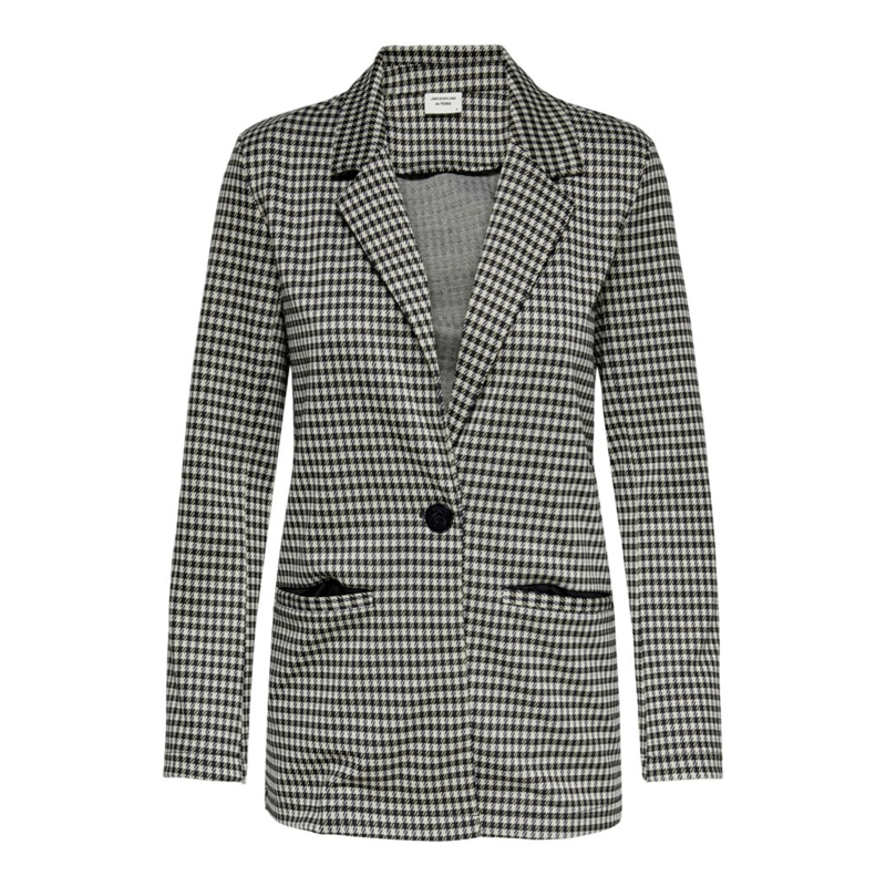 JDY - Hugh check blazer houndstooth