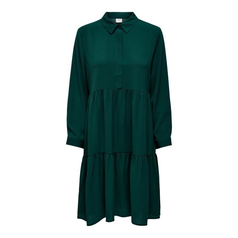 JDY - Piper shirt dress ponderosa pine