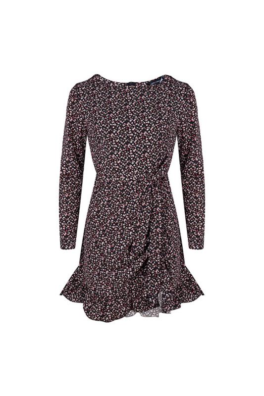 Lofty Manner - Dress Lotus Black Pink