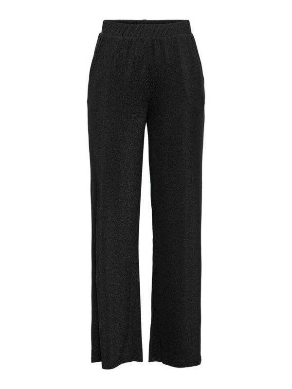 JDY - Pica wide pant black lurex