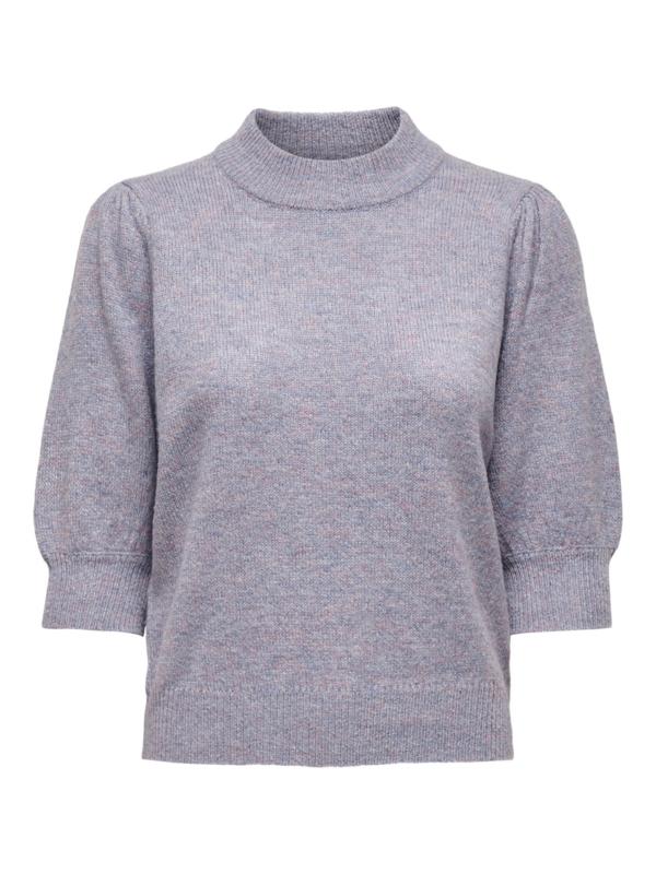 JDY - Pullover knit lavender gray melange
