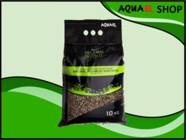 Natural gravel multi color brown 3-5mm / aquarium grind bruin 3-5mm 10KG