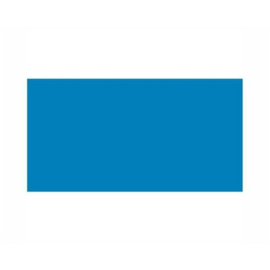 Osaka achterwandposter Blauw