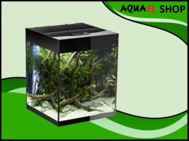 Aquael Glossy cube 50 zwart aquarium