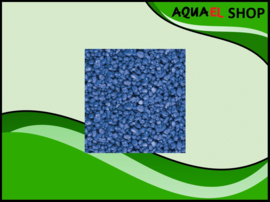 Color gravel blue / aquarium grind blauw 1KG