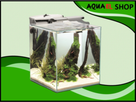 Aquael nano cube set duo - 49 liter wit aquarium