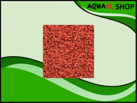 Color gravel red / aquarium grind rood 1KG