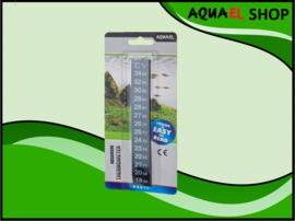 Aquarium plak thermometer
