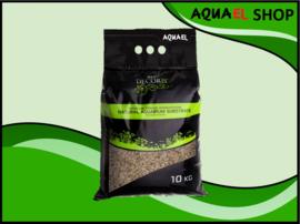 Natural gravel multi color brown 1.2-2mm / aquarium grind bruin 1.2-2mm 10KG
