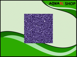 Color gravel purple / aquarium grind paars 1KG