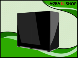 Glossy 80cm aquarium meubel zwart
