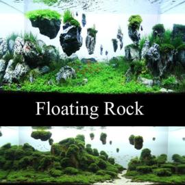 Suspended Rock 3-12cm drijvende stenen - aquarium decoratie stenen in zakje