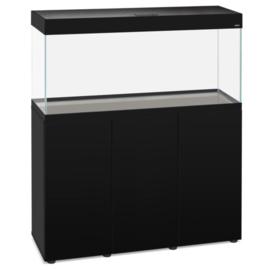 Aquael OptiSet 125 Aquarium Zwart - 80cm met meubel