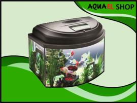 AQUA4 KIDS panorama aquarium set compleet