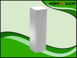 Aquael nano cube set duo - 49 liter wit aquarium inclusief meubel
