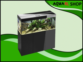 Aquael Glossy 80 zwart aquarium set inclusief glossy meubel