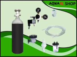 Osaka compleet CO2 systeem tot 400 liter incl. magneetventiel