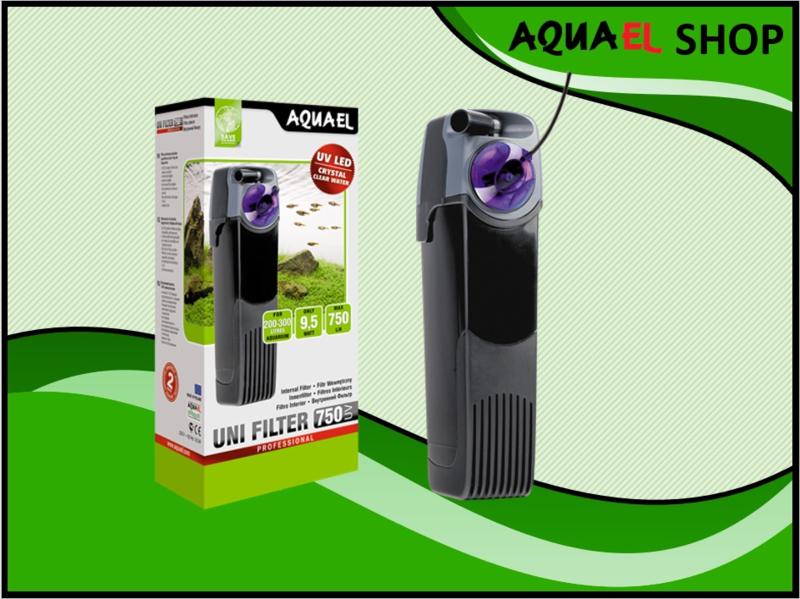 UNIFILTER UV 750 power  aquarium binnenfilter met uv filter