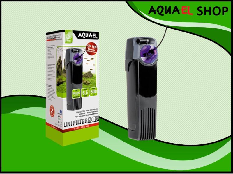 UNIFILTER UV 500 power aquarium binnenfilter met uv filter