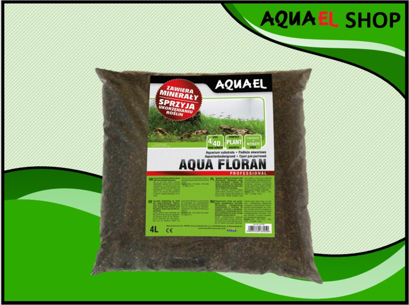 AQUA FLORAN 4.5 KG - aquarium voedingsbodem