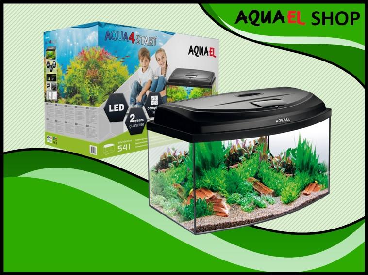 AQUA4 START 60 panorama aquarium set compleet