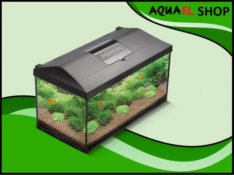 Aquael Leddy 40 zwart aquarium