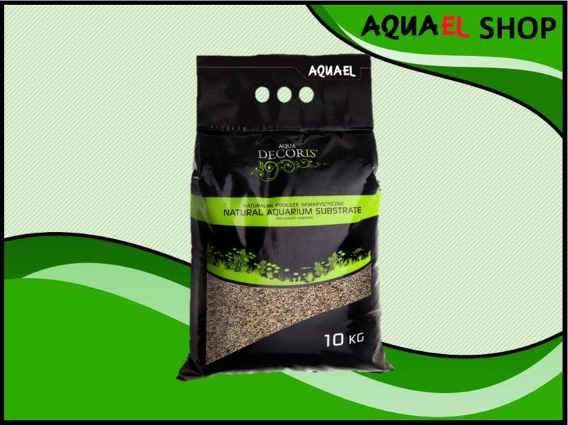 Natural gravel multi color grey 1.2-2mm / aquarium grind grijs 1.2-2mm 10KG