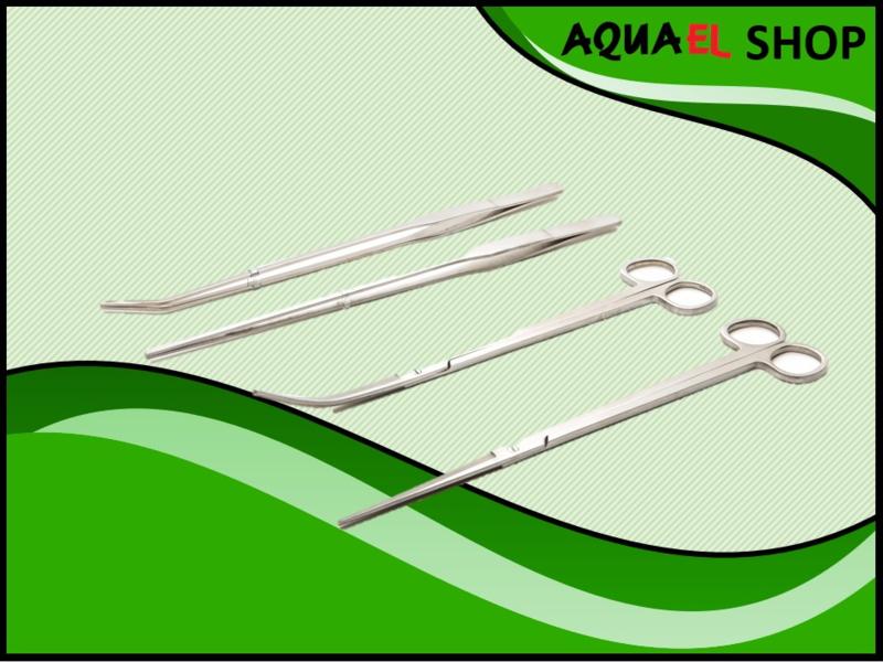 Plantenschaar en plantenpincet assortiment (aquascape tools)