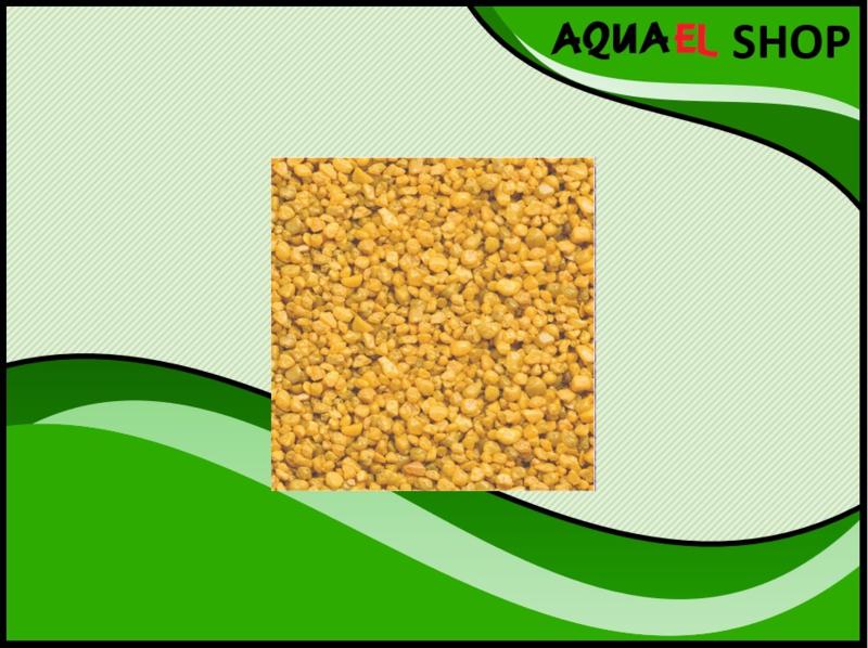 Color gravel yellow / aquarium grind geel 1KG