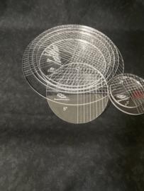 Cirkel set 3''-10''