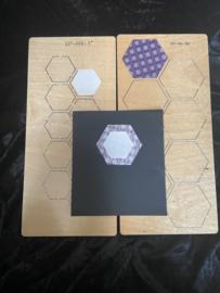Hexagon 1 1/2 inch