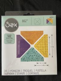 Sizzix • Bigz die Triangles 2,5 '' (2'' finished)