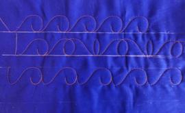 Fancy curl 1,5 x 5,5 inch