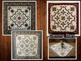 Dancing Stars- paper piecing
