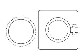 Cirkel, ovaal
