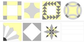 Panel quiltblocks