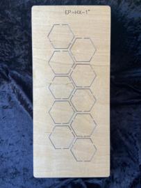 Hexagon 1 inch