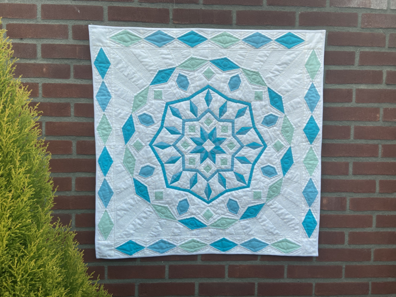 Penny- paper piecing pattern