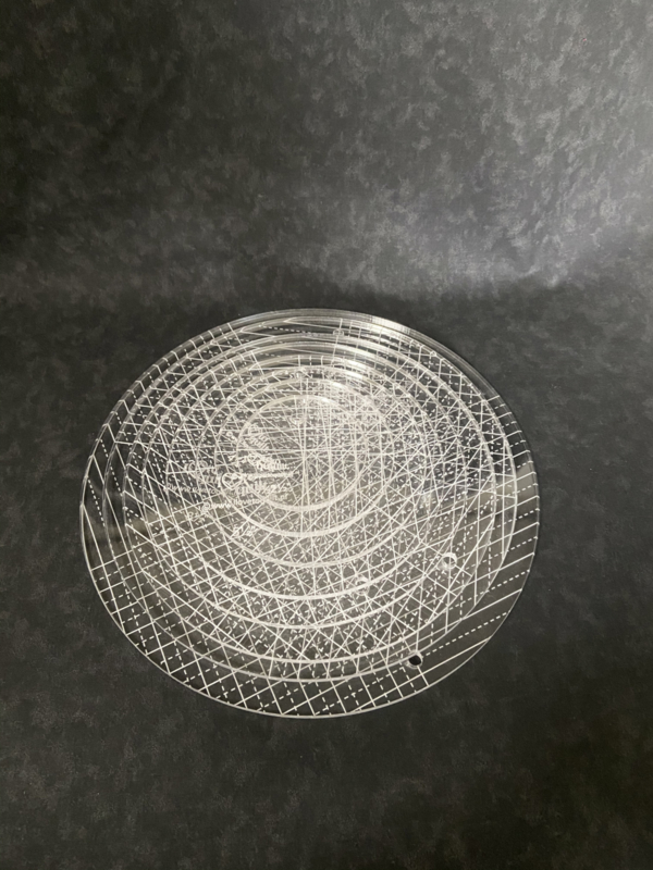 Circles set 2.5''-9.5''