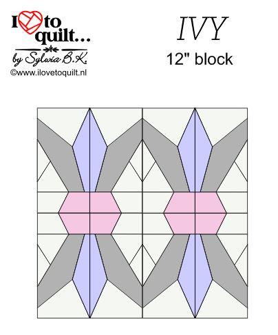 Ivy 12'' block