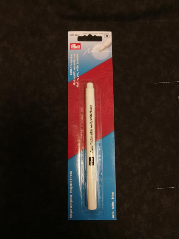 Aqua marker white