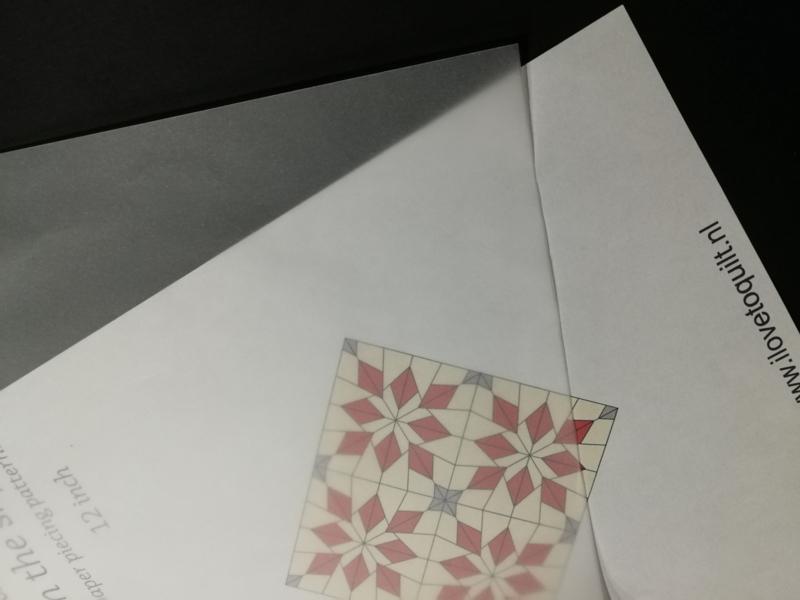 Overtrek papier