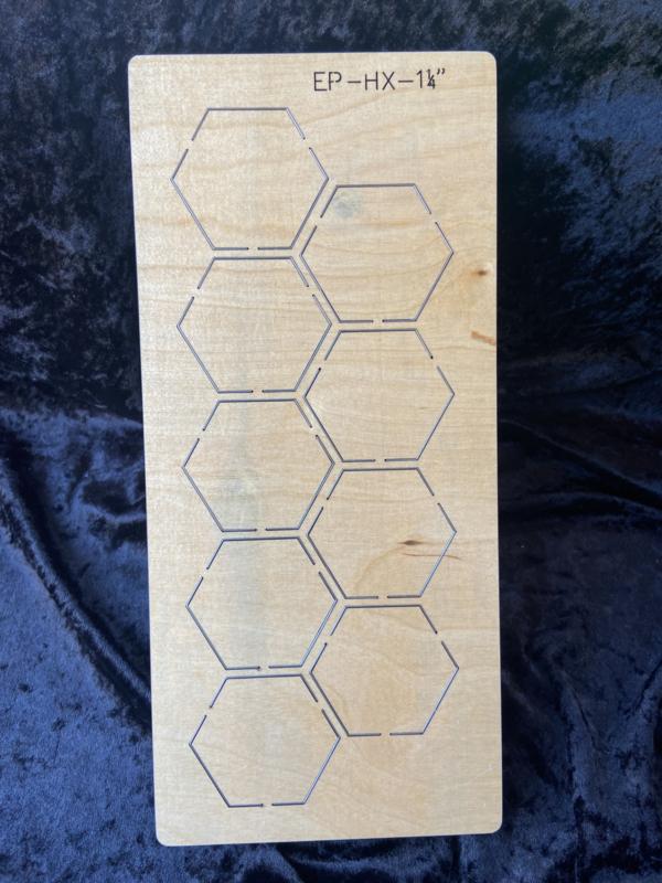 Hexagon 1 1/4 inch