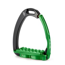 Tech Stirrups Venice FIT adult zwart/groen